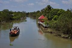 An Binh - rivière 2 (luco*) Tags: vietnam delta du mékong mekong an binh bateau boat barque rivière river arroyo canal channel flickraward flickraward5