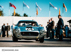 1962 Ferrari 250 GT SWBC (Entrant/Driver Arnold Meier and David Franklin Ludovic Lindsay) at the 2018 Goodwood Revival (Dave Adams Automotive Images) Tags: 2018 70200 automotive automotivephotography car carvintage cars chichester classiccar classicdriver daai daveadams daveadamsautomotiveimages driveclassics drivetastefully dukeofrichmond fordwater gt goodood goodwoodrevival goodwoodrevival2017 iamnikon kinrara lavant lordmarch motorsport motorsportphotography nikon paddock petrolicious pistonheads ractt racing revival sigma sigmaart stmarys sussex vintage vintagecar whitsun wwwdaaicouk 1962 ferrari 250 swbc goodwood classicsportscar goodwoodstyle grrc carlifestyle amazingcars247 auto carphotography sportscar vintageracing carsofinstagram classiccars classicracing photooftheday carpics classiccaroftheday
