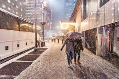 Driving (100 Real People) Tags: nikond750nikkor1835f3545 snow newyork manhatten grandcentralstation umbeerllamstreet urban