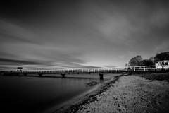 Winterstrand (kuestenkind) Tags: schwarzweis beach strand förde kitzeberg langzeitbelichtung blackandwhite bnw longexposure ostsee balticsea