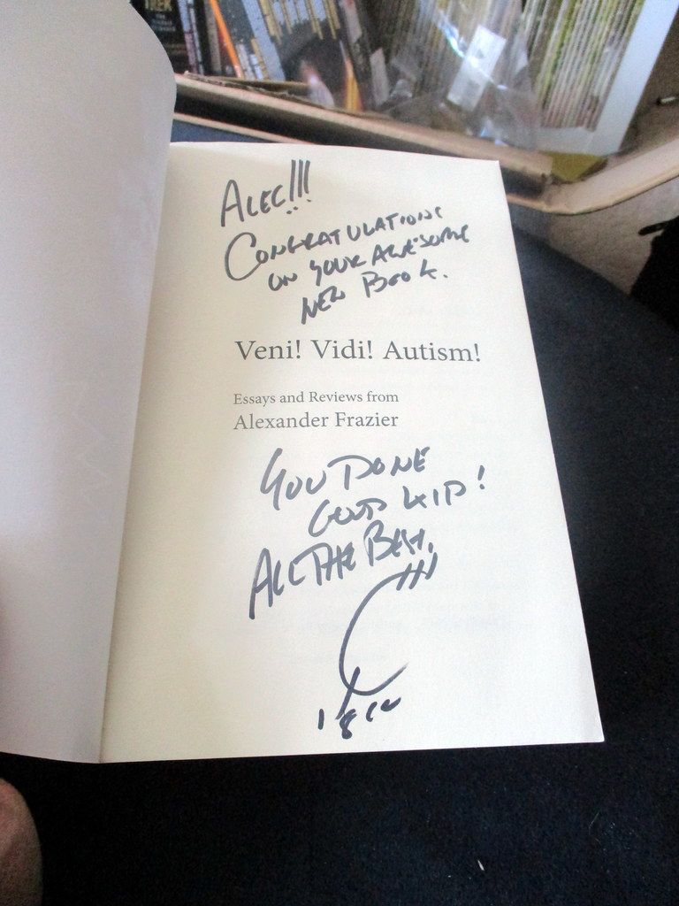 The Worlds Newest Photos Of Signed  Flickr Hive Mind Dedication And Signature Of Copy Of Veni Vidi Autism Signed By Joe  Quesada