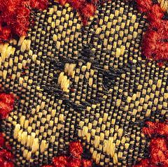 Fabric Flower_02 (brucekester@sbcglobal.net) Tags: macromondays cloth fabric flower