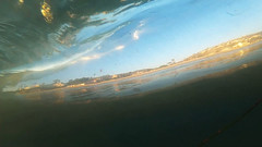 Underwater. A view from behind the wave while underwater. (davidweedallphotography) Tags: