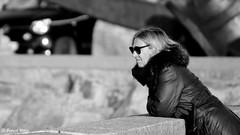 Sunglass (patrick_milan) Tags: glass sunglass blond woman femme portrait