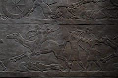 Archers on camel back (PChamaeleoMH) Tags: assyrian britishmuseum exhibition frieze london museum relief