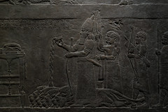 After a lion hunt (PChamaeleoMH) Tags: assyrian britishmuseum exhibition frieze london museum relief