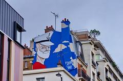 53 Paris décembre 2018 - au bout du Bassin de La Villette (paspog) Tags: paris france décembre december dezember 2018 bassindelavillette graffitis tags streetart mural murals fresque fresques