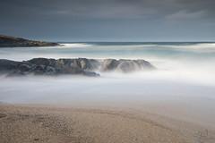 Lines (mvj photography) Tags: scotland ecosse isleofharris outerhebrides sea mer beach plage sable sand longexposure expositionlongue waves vagues seascape seashore