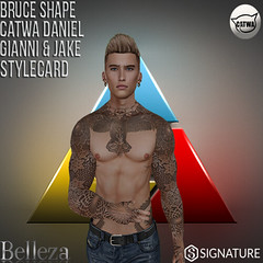 Shapes Lab Bruce (Shapes Lab) Tags: avatar catwa daniel belleza jake signature shape shapes secondlife sl