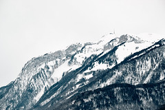 Cold (macplatti) Tags: xt2 xf55200mmf3548rlmois structures lines forms liniene strukturen wald berge felsen clouds winter woods mountain alpin stones cliffs koblach vorarlberg austria aut