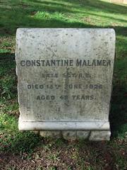 Sergeant Constantine Malamer (Living in Dorset) Tags: aldershotmilitarycemetery aldershot hampshire england uk gb grave headstone servicegrave 1926 sergeant constantinemalamer re royalengineers