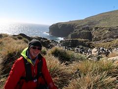 2018-102758 (bubbahop) Tags: 2018 antarcticatrip falklandislands newisland hike bubbahop hat jacket