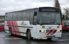 Bus Eireann PLS69 (90D42049). (Fred Dean Jnr) Tags: april2005 dublin buseireann broadstone buseireannbroadstonedepot broadstonedepotdublin pl69 schoolbus 90d42049 busscoile pls69 exshearings 808 g808rnc leyland tiger plaxton paramount