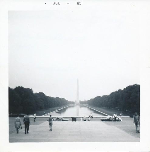 Washington Monument - July 1965