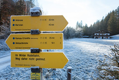 Wegweiser (Obachi) Tags: hintersee berchtesgarden flickr ramsau
