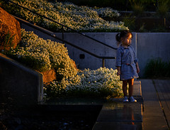 Deep In Her World - Spokane WA (j-rye) Tags: sonyalpha sonya6000 sony a6000 ilce6000 mirrorless 50mm14rokkorx sociallandscape