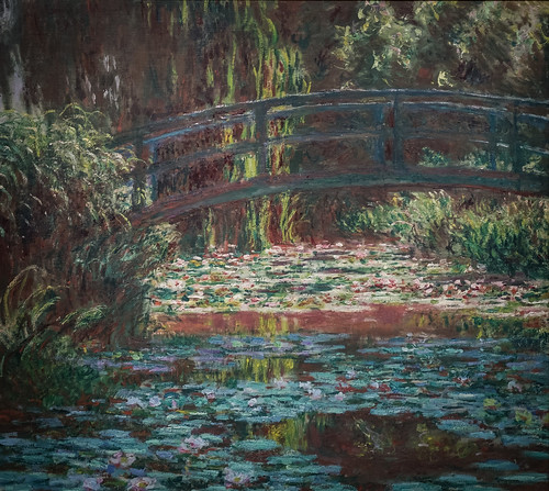 Claude Monet, Water Lily Pond, 1900 1/27/18 #artinstitutechi #artmuseum #chicago