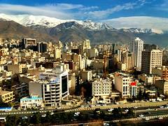 Tehran (maryduniants) Tags: mountains buildings iran tehran