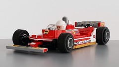 Ferrari 312T4 (Jerac) Tags: lego formula1 ferrari 312t4