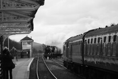 48151 (feroequineologist) Tags: 48151 8f railway train steam hellifield lms mainlinesteam wcrc