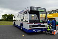 1266 G266EOG (PD3.) Tags: bus buses coach psv pcv preserved september 2018 showbus show castle donington derby park west midlands travel leyland lynx 1266 g233eog g266 eog