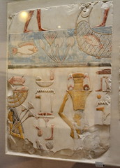 Chicago, IL - University of Chicago - Oriental Institute - Egyptian - Relief with Fishermen and Offering Bearers (jrozwado) Tags: northamerica usa illinois chicago universityofchicago university museum orientalinstitute middleeast neareast history archaeology egyptian relief fisherman offeringbearer