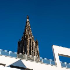 Ulm (martinpmayer) Tags: ulm münster blau blue weis white sky himmel heaven quadrat germany flickrheroes