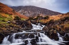 Heading up Cadair Idris (Adam John Evans Photo) Tags: d810 nikon wales cadairidris mountain northwales snowdonia stream waterfall cascade morning