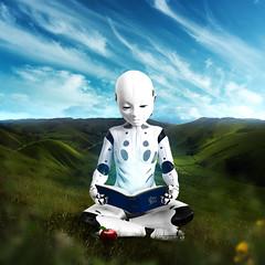 Roko (Michel Omar.) Tags: michelomar digital art artedigital digitalart photomanipulation photoshop adobe conceptual scifi sciencefiction cienciaficción robot robots nature future futuro futuristic méxico