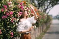 NAM02812-Edit (ngocnam23041991) Tags: portrait vietnam vietnamese afternoon beauty forest saigon hochiminh sonyalpha a7iii a7m3 sony85mmf18 fe85mmf18 tree grass flower