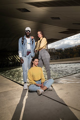 Nathan, Charlotte & Inès (Claude Schildknecht) Tags: ad600pro alamercery beauty broncolor charlotte confluence europe family france girl inès lyon makeupartist makeup manfrotto maquillage maquilleuse marion model museum muséedesconfluences nathan places shooting woman redlips