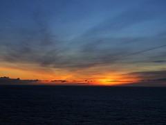 Dublin Bay Sunrise (n1el) Tags: dublin ireland leinster harbour sunrise dawn sky ship ferry irishsea