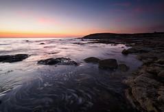 Swirling sea (Alf Branch) Tags: sea seaside seawaves seascape seashore seaweed rocks parton partonbeach beach rock sunset summer westcumbria water waves irishsea cumbria calmwater alfbranch olympus omd olympusomdem5mkii