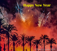 Happy. New Year (keithhull) Tags: sitges fireworks spain 2016