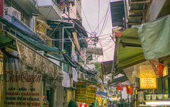 Street Market in District 10 of Ho Chi Minh City
