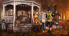 """❥ """"Autumn is a second spring, when every leaf is a flower"""" #55ಌ (TwoSouls SL) Tags: tmd fall sl secondlife blog bloggers couple fashionsl newrelease 2souls twosouls new release blogging secondlifeblogger signature scene decor slblogger"""