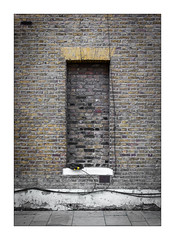 The Built Environment, South London, England. (Joseph O'Malley64) Tags: thebuiltenvironment newtopography newtopographics building structure victorian victorianbuilding urban urbanlandscape architecture architecturalphotography britishdocumentaryphotography documentaryphotography southlondon london england uk britain british greatbritain brickwork londonbrick bricksmortar cement pointing render brickedup brickedupwindow mitredbricklintel pavement airbrick cables wiring electricalwiring airbricks cracks cracking settlement subsidence repointing waterdamage waterintrusion frostdamage coalsootdamage acidraindamage fujix fujix100t accuracyprecision