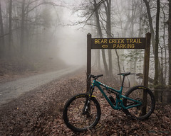 Bear Creek 13 Jan 2019 (Roy Cohutta) Tags: yeti ridedriven myi9 morethanmyth mountain bike mountainbike fog ellijay georgia gilmer gilmercounty sb130 northgeorgia cohutta