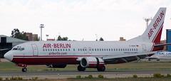 Boeing 737-46J D-ABAH (707-348C) Tags: palmaairport palma lepa airliner jetliner boeing boeing737 b734 dabah airberlin berlin 2006 spain pmi ber passenger