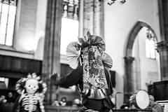 IMG_1653 (foretfantome) Tags: tibetan dance costume strasbourg tibet danse noir et blanc foret fantome guillermo gomez 5d mk 3 eglise church ethno bouddhisme