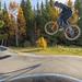 Brage Vestavik sykler pumptrack i GT Bikepark