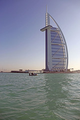 Burj Al Arab 1 (cj_hunter) Tags: burjalarab jumeirah dubai uae hotel architecture skyscraper sea coast coastal luxury luxurious boat sightseeing travel
