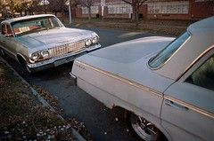 (Chris Giuliano) Tags: belair chevybelair 1960s classic classiccar americana denver fivepoints denverco 35mm filmphotography canonae1 kodakportra400 portra 35mmfilm vintage