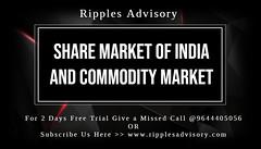 Futures tips Nifty Futures - Ripples Advisory (ripplesadvisory90092) Tags: share market tips hni commodity pack mcx
