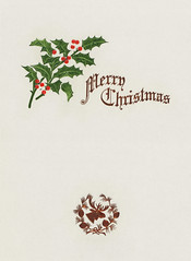 Merry Christmas card design (Free Public Domain Illustrations by rawpixel) Tags: mynt pdproject20 pdproject20batch44 pdproject22 por vector pdproject20batch44x antique art artwork border card celebration christmas christmascard classic decor decoration design dinner drawing festive font green greeting greetings handwritten historical history holiday holly hotel illustration invitation leaf leaves letter lettering menu merry merrychristmas name ornament ornamental painting print publicdomain retro script season seasonal style traditional type typography vintage winter xmas