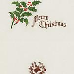 Merry Christmas card design thumbnail