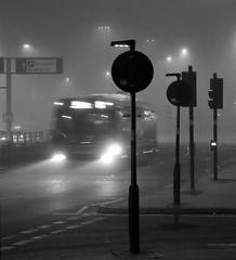 In The Mist (Jason_Hood) Tags: mist fog birmingham fiveways