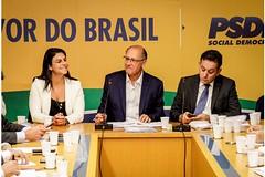 29/11/18 - Reunião de boas-vindas promovida pelo presidente do PSDB Nacional, Geraldo Alckmin