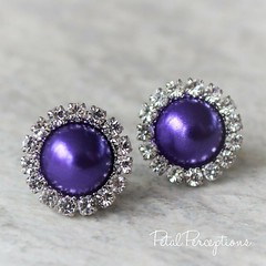 Planning a purple wedding? Order these or have them custom made in your shade of #purple! #weddings #bridesmaidjewelry https://t.co/0iayzguvLa https://t.co/smxvPDfLDH (petalperceptions.etsy.com) Tags: etsy gift shop fashion jewelry cute
