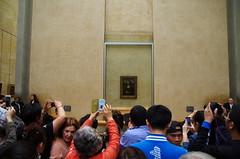 Mona Lisa Room Experience (sarowen) Tags: thelouvre paris france parisfrance museum muséedulouvre louvremuseum monalisa monalisaroom tourists